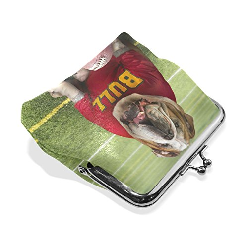 American Dog for Coin Wallets Change Football Purse TIZORAX Women Bag Small Girl Small Purse Cash Bull pEqTwT