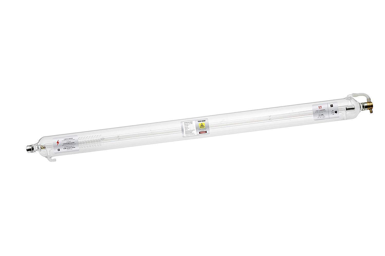 VEVOR Laser Tube 80W CO2 Laser Tube 1250mm Length Glass Laser Tube 80mm Dia for Laser Engraving Machine and Cutting Machine