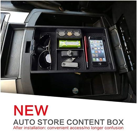 R RUIYA 2009-2018 RAM 1500 Car Center Console Armrest Glove Secondary Console Organizer Insert Tray Storage Box