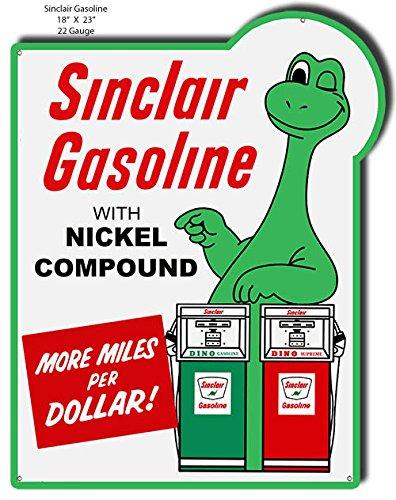 sinclair motor oil sign - 8