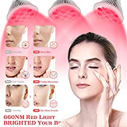 Red-Light Therapy with Remote Control 24W 850nm 660nm Pulsed Light Therapy Device Infrared Light Therapy Red with Eyes Mask