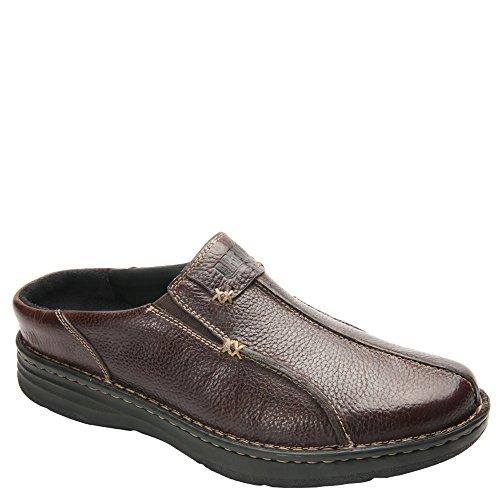 Drew 13 Men's Jackson Mule,Brown Leather,US 13 Drew W B01K29N460 Shoes aee623