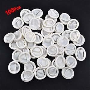 Dcolor100PS polvo de protectores de goma de látex dedo Cunas, Modelo:, hardware Tools & Store