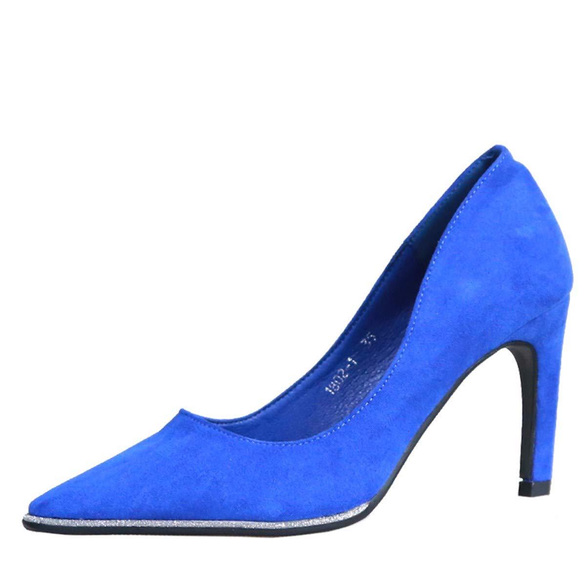 KPHY Damenschuhe Damenschuhe Damenschuhe Herbst-Damenschuhe Dünn und Dünner 18Cm Hohe Schuhe Mode Pailletten Spitze Flache Schuhe.37 des d496a3
