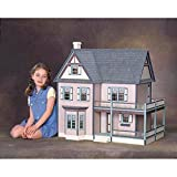 Real Good Toys Victoria's Farmhouse Dollhouse Kit - 1 Inch Scale