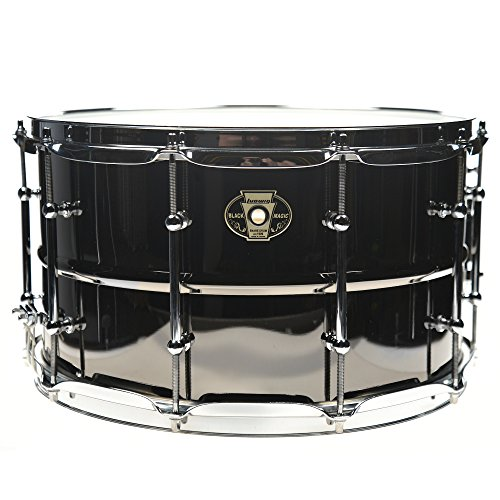 Ludwig 8x14 Black Magic Snare (Beaded Brass Snare)