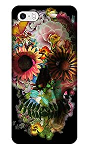 Sangu Skull Candy Print in Hard Back Shell Case / Cover for iphone 5 and 5s(Style9)