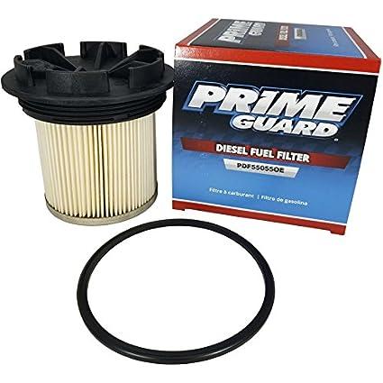 PDF55055OE Prime Guard Fuel Filter For Ford 1994-1998 7.3L V8 Turbo Diesel