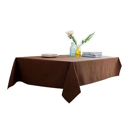 Amazon Com Wenyao Simple Western Table Cloths Solid Color