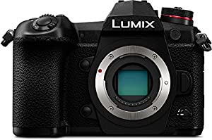 PANASONIC LUMIX G9 Mirrorless Camera Body, 20.3 Megapixels plus 80 Megapixel High-Resolution Mode, 5-Axis Dual I.S2, DC-G9KBODY (USA Black)