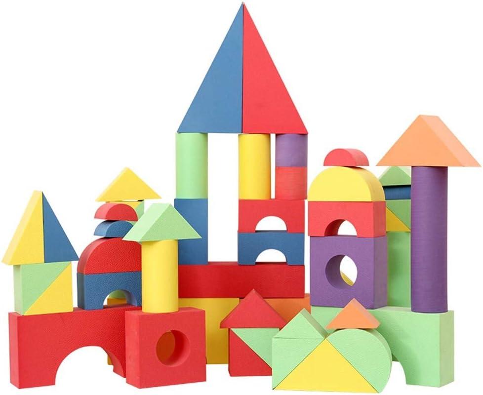 XHZDWJKA 50 Piezas Bloque de Ladrillos Seguro para niños