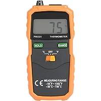 Termómetro digital termopar, PEAKMETER PM6501 Medidor de temperatura con sonda de sensor de termopar tipo K Medidor de…