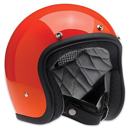 Black//Silver, Small Biltwell Unisex-Adult Open-Face-Helmet-Style Gloss Tracker Bonanza 3//4 Open-Face DOT Helmet