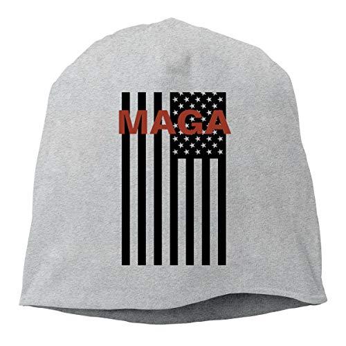 Eleanore Charles MAGA Mindset - Make America Great Again Beanie Cap Winter Warm Knit Skull Hat for Men Women ()