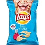 Lay's Salt & Vinegar Flavored Potato Chips, 7.75 Ounce