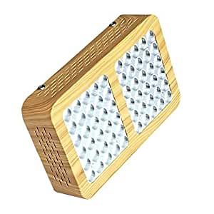 MagiDeal 300W LED Grow Light 60x5W Plant Grow Lights Full Spectrum Multi-Wavelength 60x5W for Indoor Hydroponics Veg Flowers