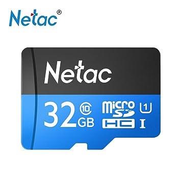 Grborn Netac P500 Clase 10 32G Micro SDHC TF Tarjeta de ...