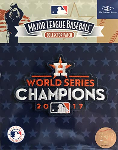 Official Licensed 2017 MLB World Series Champions Houston Astros MLB Patch