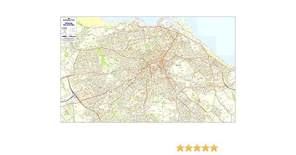 Código postal ciudad Sector Mapas 4 Edimburgo (papel): Amazon.es: Oficina y papelería