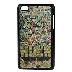 Hulk Avengers 001 iPod Touch 4 Case Black TPU Phone Case RV_625265