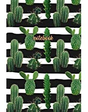 Notebook: Beautiful Cactus Notebook Journal   120-Page Lined