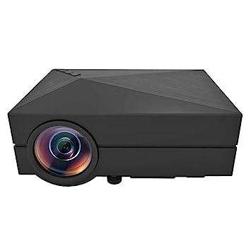 WHLDCD Proyector Home Theater HDMI USB VGA AV LCD Mini 1080P ...