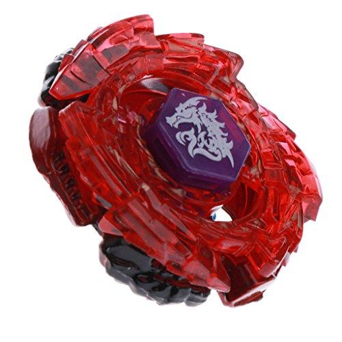 MagiDeal Toupie Gyro Système Fusion 4D Métal Avec Lanceur de Chaîne - BB 98