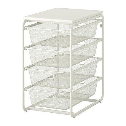 Ikea Algot Marco/4 Alambre de red Cestas/deckplatte Sistema de almacenamiento; en