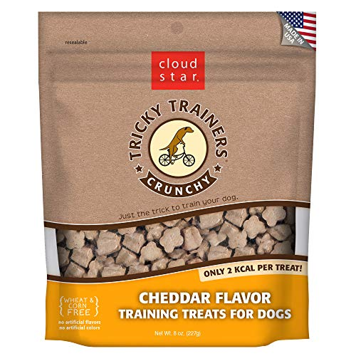 Tricky Trainers Liver Treats - Cloud Star Tricky Trainers Crunchy - Cheddar - 8 oz.
