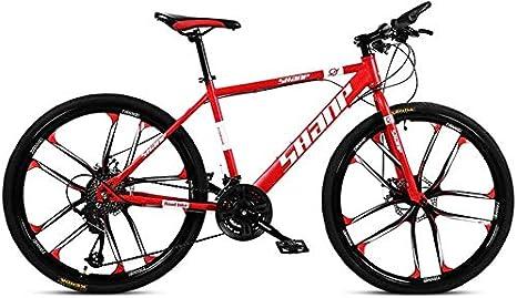BHDYHM Bicicleta Eléctrica Bicicleta Plegable 26 Pulgadas Neumáticos Gordos Nieve Bicicletas Montaña, Bicicleta Montaña Asiento Ajustable Bicicleta,Marco Acero Alto Carbono: Amazon.es: Deportes y aire libre