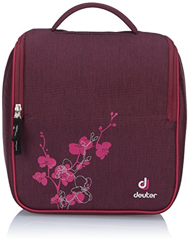 Deuter Damen Kulturtasche Wash Room, Blackberry Dresscode, 27 x 26 x 13 cm, 9 Liter, 3947450320