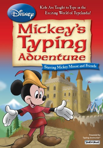 Disney: Mickey's Typing Adventure for Mac (Mickey Mouse Computer Game)