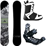 Camp Seven Package Valdez CRC Snowboard-156 cm-System APX Bindings-System APX Snowboard Boots 11