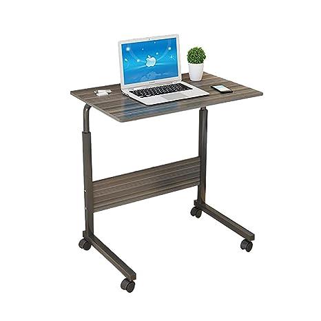 Amazon.com: ZHAORU-End - Mesa de ordenador, mesita de noche ...