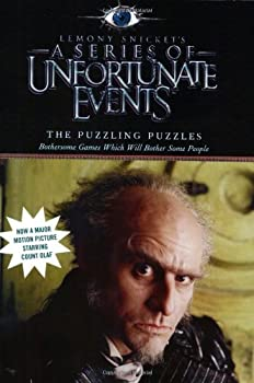 The Puzzling Puzzles: Bothersome Games Which Will Bother Some People (A Series of Unfortunate Events Activity Book) 0060757302 Book Cover