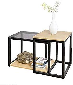 Amazoncom Nan Liang Nesting Tables Set Of 2 Coffee Table