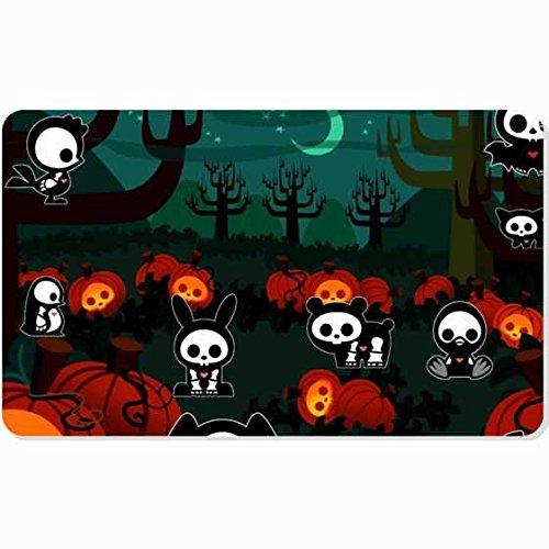 [Personalized Doormat,Custom Home Decor Door Mat/Pad Unique Customized Indoor/Outdoor Floor Mat Design Holidays Animals Halloween costumes forest Holiday] (Forest Animal Halloween Costumes)