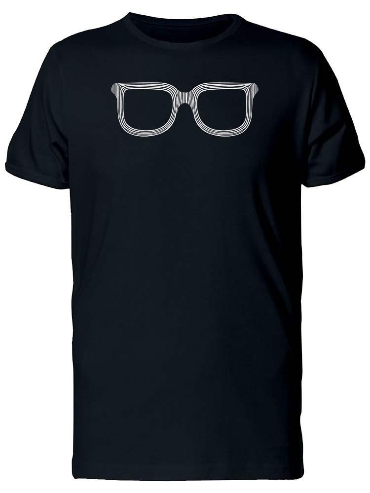 Cool Striped Fashion Sunglasses Tee Men's -Image by Shutterstock