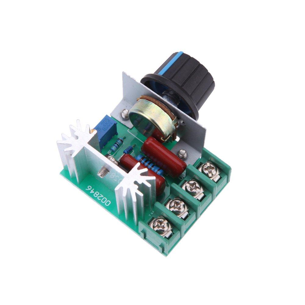KKmoon Module de régulateur de tension électronique haute puissance 2000W AC50-220V SCR