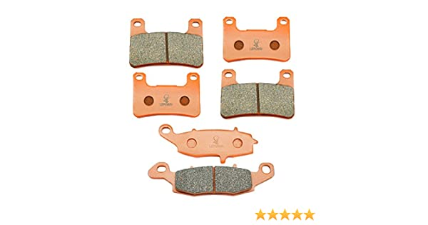 SYUU Motorcycle Replacement Front Rear Brake Pads Brakes for Suzuki VZR 1800 Boulevard M 1800 R M109R M109R2 2006-2015 FA379F FA231R