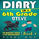 The Minecraft World and the Ender Dragons: Minecraft Diary: Diary of a 6th Grade Steve, Book 1 |  Pixel Boy