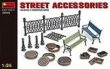 Mini Art Plastics Street Accessories