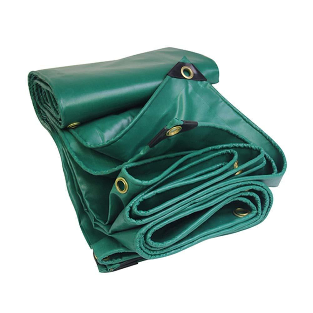 miglior reputazione Telone Impermeabile in PVC PVC PVC Antipioggia Resistente alla Pioggia per Tenda Barca Camper Copertura per Piscina, verde FENGMING (colore   verde Scuro, Dimensioni   3x4M)  nuova esclusiva di fascia alta