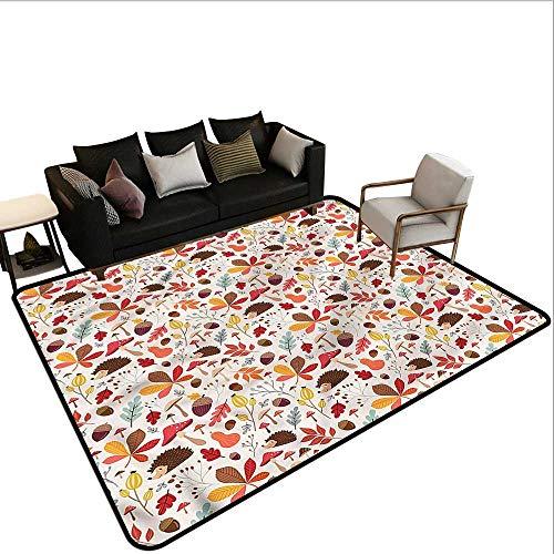 Autumn,Bathroom Rug Kitchen Carpet 36