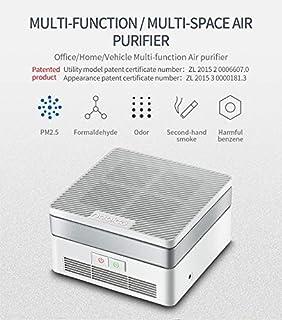 Ryhua Purificador De Aire Portátil, Ambientador De Aire con UV-C ...