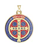 Intercession Saint Benedict Color Medal