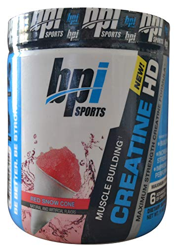 BPI Sports Creatine HD Red Snow Cone