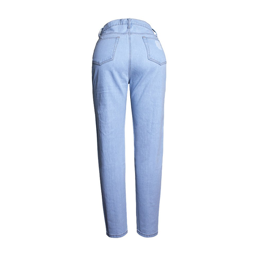 Geurzc Ripped Distressed High Waisted Boyfriend Jeans for Women
