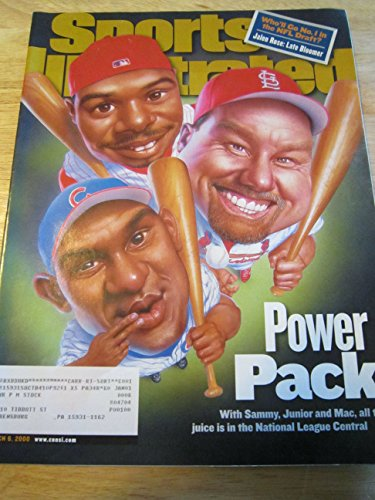 SPORTS ILLUSTRATED MARCH 6, 2000 POWER PACK SAMMY, JUNIOR...