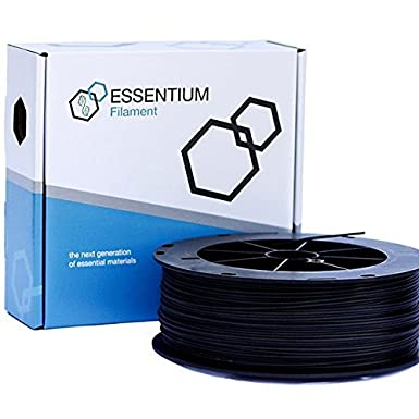 Essentium Engineering Grade PLA 2.85mm High-Strength /& Easy-to-Print Filament Dimensional Accuracy +//- .05mm Black for DIY 3D Printing Projects No Nozzle-Jams 2KG